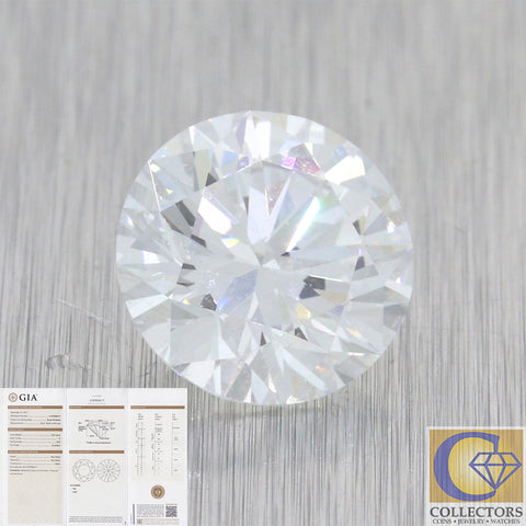 2.05ct GIA Certified Round Shape Brilliant Cut E VS2 Natural Modern Loose Diamon