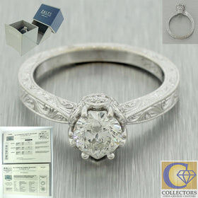 Zales Celebration Diamond Collection 0.95ct Round 102 Facet Engagement Ring