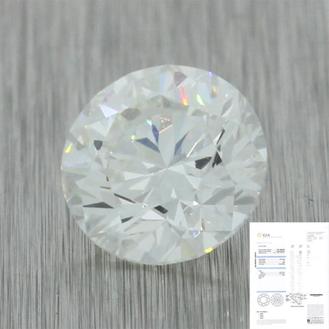 1.51ct GIA Certified Round Brilliant H VS2 Natural Loose Diamond For Engagement Ring