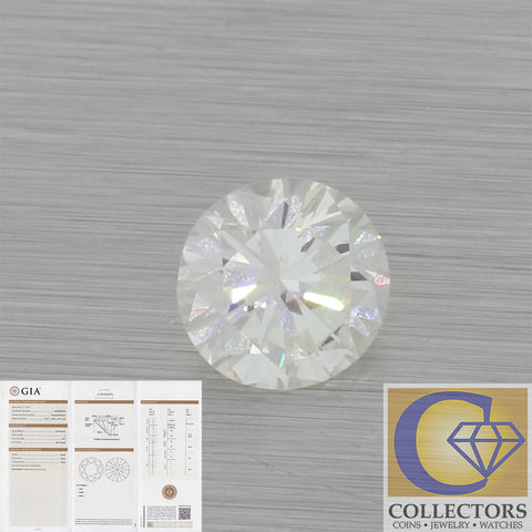 0.78ct GIA Certified Round Shape Brilliant Cut J VS1 Natural Modern Loose Diamond