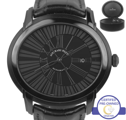 Audemars Piguet Millenary Quincy Jones 47mm Black 15161SN.OO.D002CR.01 Watch