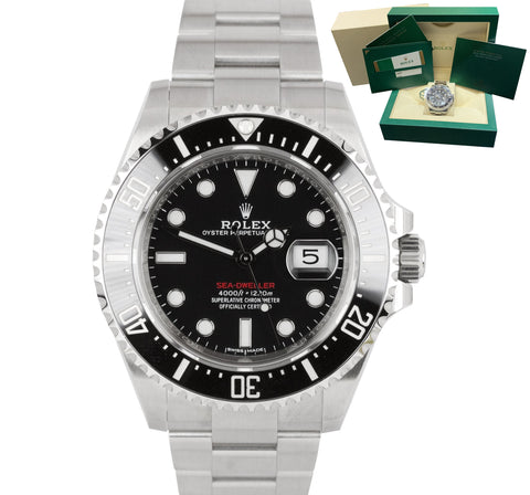 2018 UNPOLISHED Rolex Red Sea-Dweller 43mm Mark I 50th Anniversary 126600 Watch