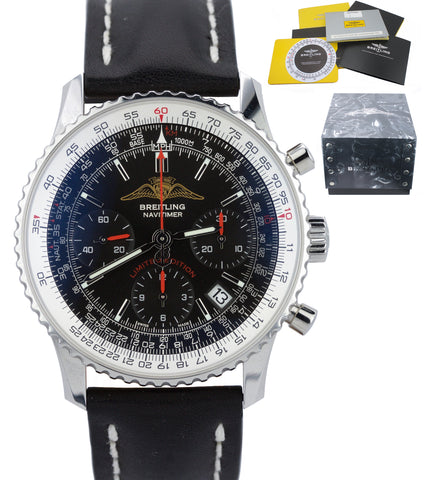 Breitling Navitimer AOPA Limited Edition Chronograph 42mm Black A23322 Watch