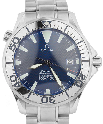 Omega Seamaster Professional 300M 2255.80.00 Electric Blue Automatic 41mm Watch