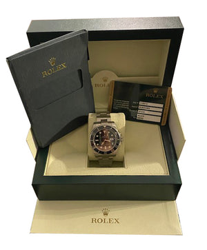 BOX PAPERS Rolex Submariner Date 116610 40mm Stainless Steel Black Ceramic Watch