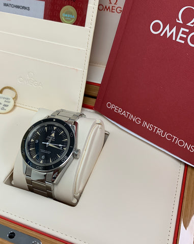 Omega Seamaster 300 Co-Axial 41mm Automatic SS Black Watch 233.30.41.21.01.001