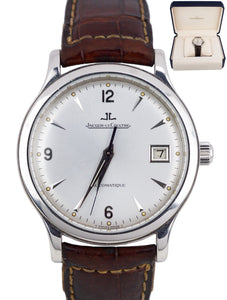 Jaeger-LeCoultre JLC Master Control Date 37mm Steel Automatique 140.8.89 Watch