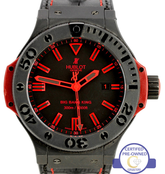 Hublot Big Bang King 48mm Black Ceramic Red Automatic 322.CI.1130.GR.ABR10 Watch