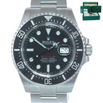 NEW June 2020 PAPERS Mark II Rolex Red Sea-Dweller 43mm 126600 Steel Watch Box