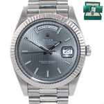 MINT 2016 PAPERS Rolex Day Date 40 White Gold President Rhodium 228239 Watch Box