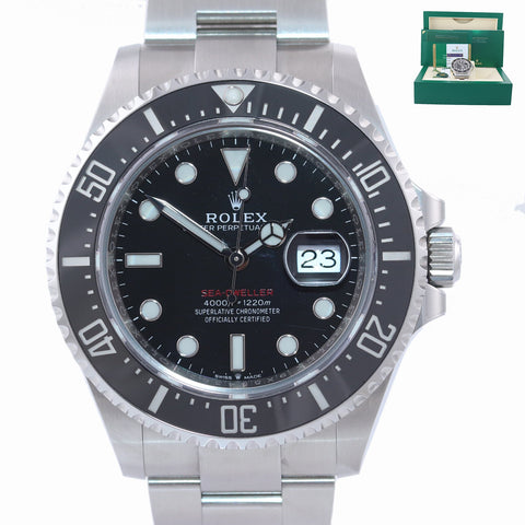 BRAND NEW 2019 PAPERS Mark II Rolex Red Sea-Dweller 43mm 126600 Steel Watch