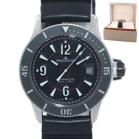 Jaeger-LeCoultre JLC Master Compressor Navy SEALs 42mm Steel 162.8.37 Dive Watch