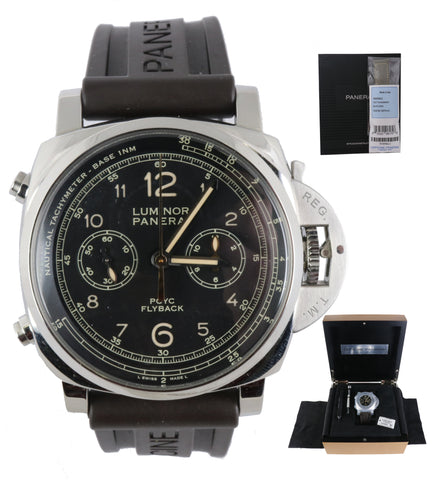 2019 Panerai Yachts Challenge Luminor Pam 653 44mm PAM00653 Flyback Chronograph