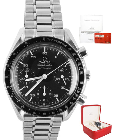 Omega Speedmaster Reduced Chronograph Automatic Stainless 3510.50