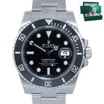 2020 NEW STICKERS PAPERS Rolex Submariner 116610 Steel Black Ceramic Watch Box