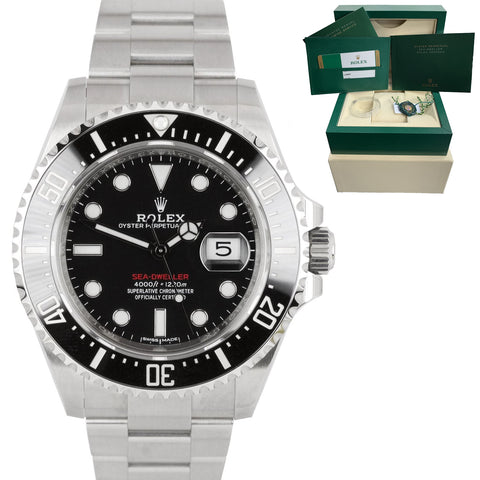 2017 LNIB MINT Rolex Red Sea-Dweller 43mm Mark I 50th Anniversary 126600 Watch