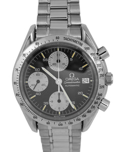 MINT Omega Speedmaster Automatic 39mm Reverse Panda 3511.50 Stainless Watch