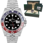 BRAND NEW 2020 Rolex GMT-Master II 'PEPSI' Red Blue Ceramic Watch 126710 BLRO