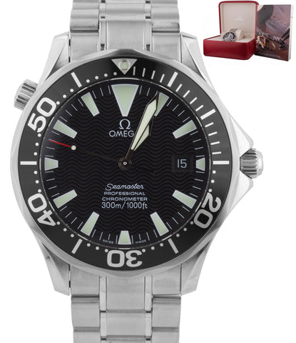 Omega Seamaster Professional Sword Hands 41mm 300M 2254.50 Black Automatic Watch
