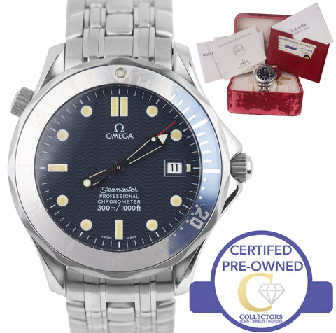 Omega Seamaster Professional 300M 2531.80 Faded Blue Wave Automatic 41mm Watch