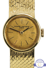 Ladies Vacheron Constantin Genève 18K 750 Yellow Gold Manual 17mm Mesh Watch