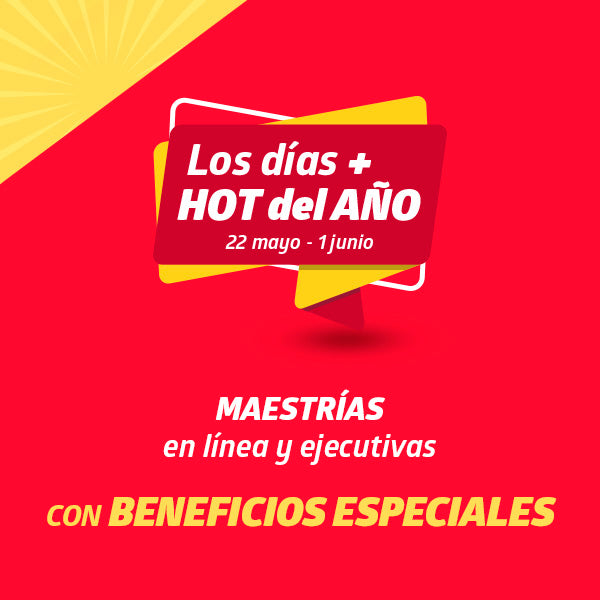 Hot Sale de  Maestrías - Universidad UTEL