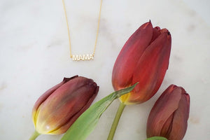 Mama Gold Necklace | Mother's Day Jewelry | Mom Necklace