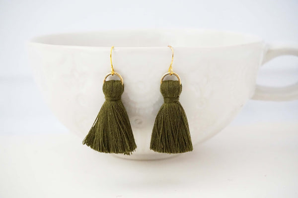 Chunky Tassel Earrings