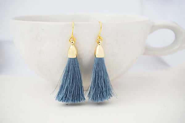 Silky Tassel Earrings