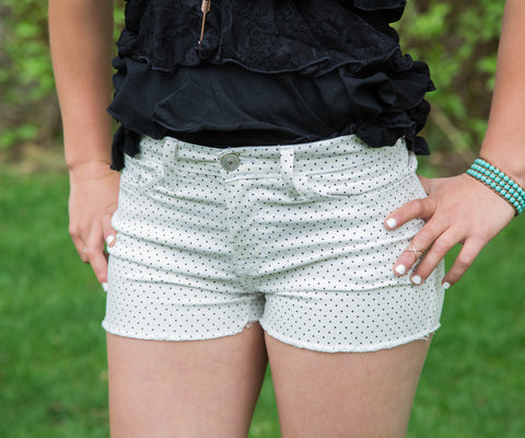 Polka Dot Shorts - Amore Clothing - 1