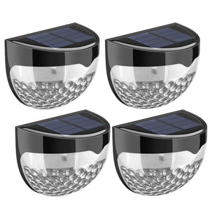 6 LED (4 Pack) Solar Fence Light