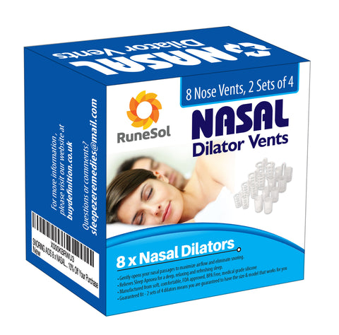 Nasal Dilators X 8 - Help You Breath Better For Snoring Prevention - Free Shipping