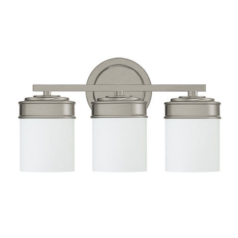 Abbey 3 Light Vanity Fixture - Waterbury Design Works