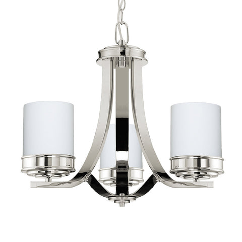Abbey 3 Light Chandelier - Waterbury Design Works