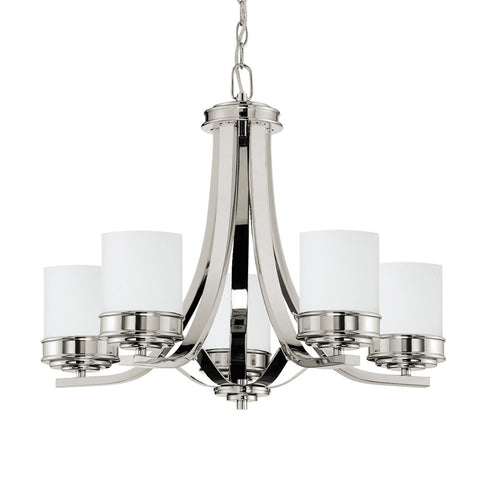 Abbey 5 Light Chandelier - Waterbury Design Works
