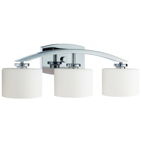 Regent 3 Light Vanity Fixture - Waterbury Design Works