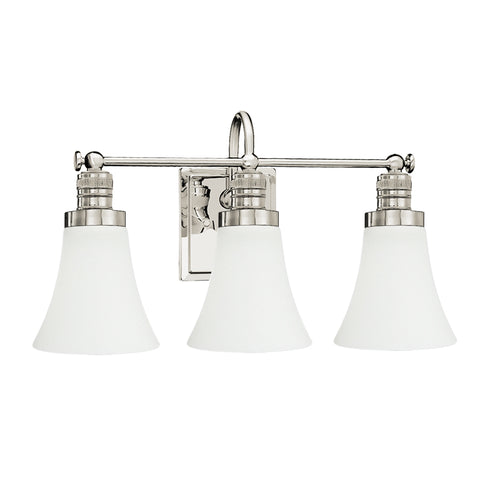 Brompton 3 Light Vanity Fixture - Waterbury Design Works