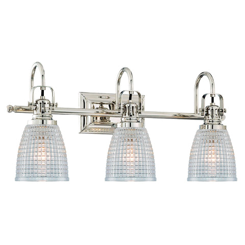 Oakley 3 Light Vanity Fixture - Waterbury Design Works
