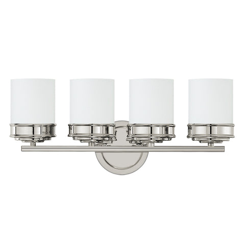 Abbey 4 Light Vanity Fixture - Waterbury Design Works