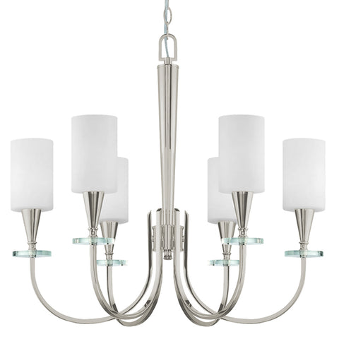 Charpentier 6 Light Chandelier - Waterbury Design Works