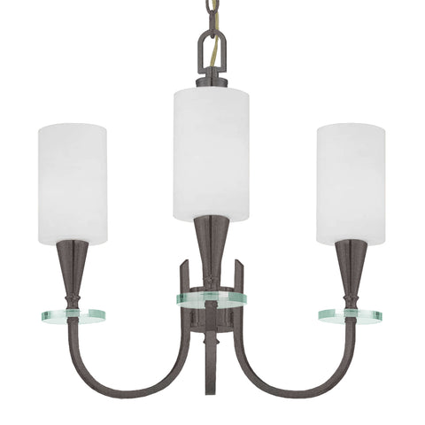 Charpentier 3 Light Chandelier - Waterbury Design Works