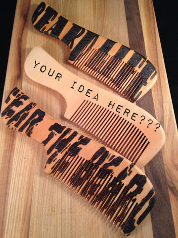 Customized Comb - 1740 Beard Balm