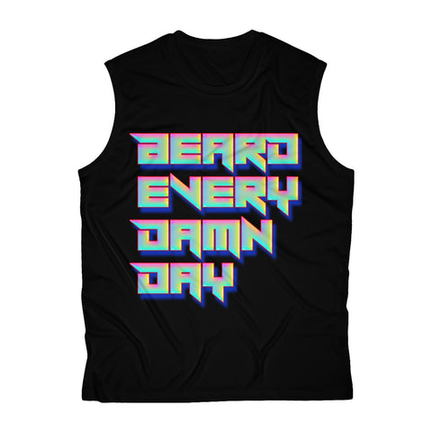 Beard Every Damn Day Sleeveless Performance Tee - 1740 Beard Balm