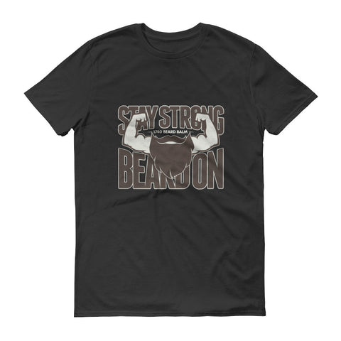 Strong Beard sleeve t-shirt