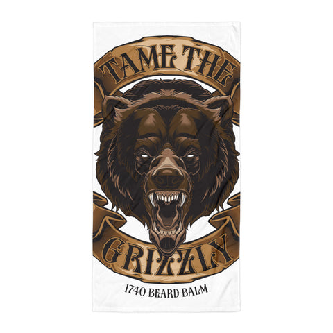 Grizzly Beach Towel - 1740 Beard Balm