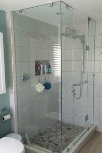 Shower Enclosure - Custom Walk In