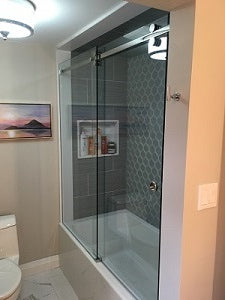 Shower Enclosure - Serenity Slider on Tub