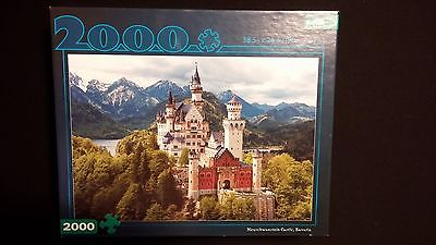 Neuschwanstein Castle Bavaria Scenery 2000pc Jigsaw Puzzle