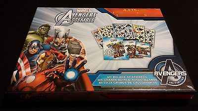 Marvel AVENGERS Assemble: My Big Box Of Stickers - 4,275 pcs w/ Activities