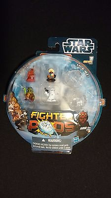Star Wars Fighter Pods Set - Collectible Spinning Tops Random Pack - 2011 HASBRO
